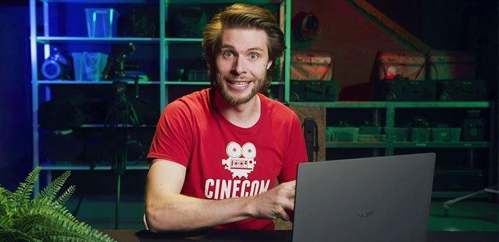 Jordy Vandeput from Cinecom teaches how to learn Premiere Pro