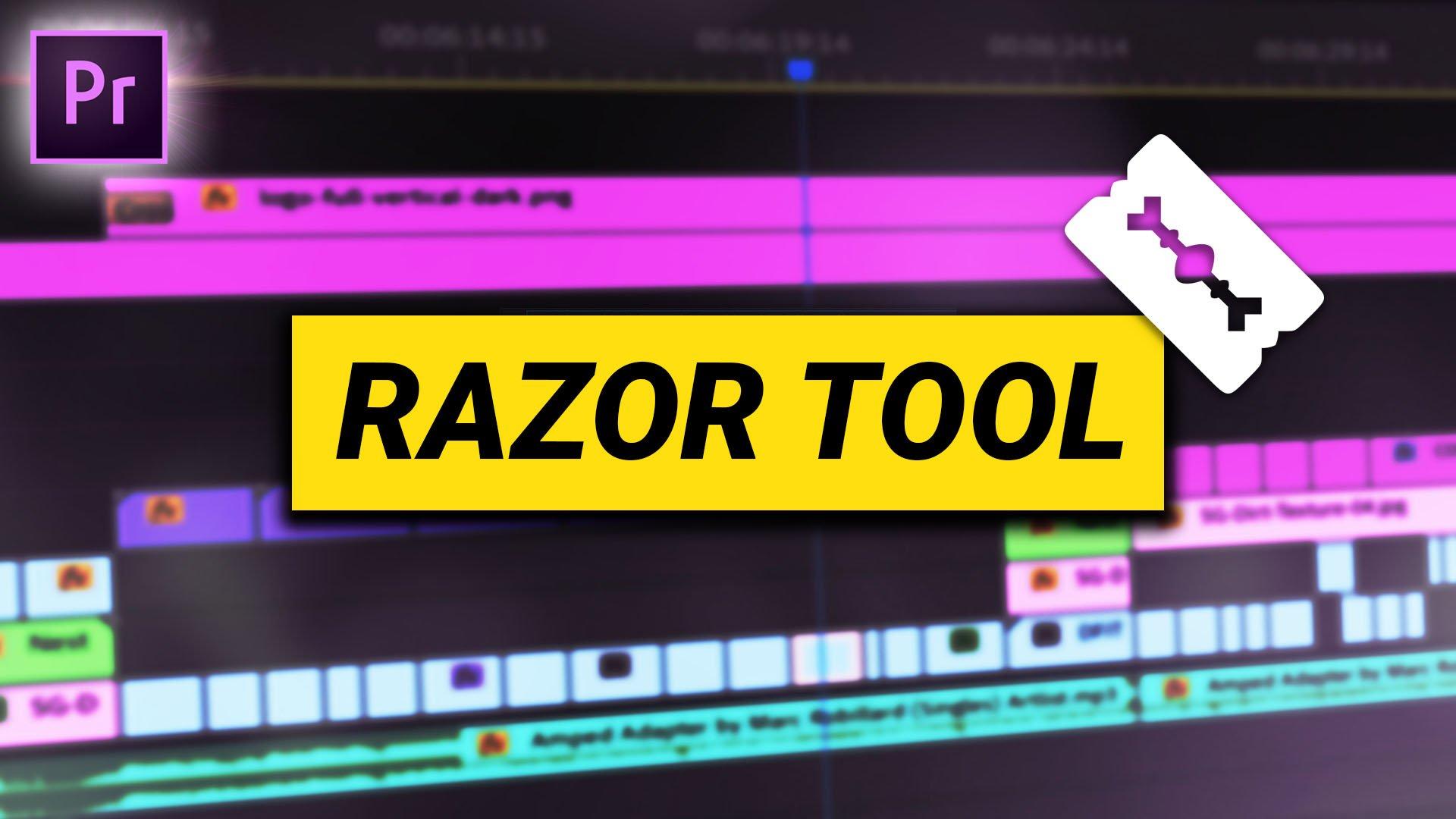razor tool premiere pro