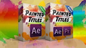 Painted Titles for Premiere Pro