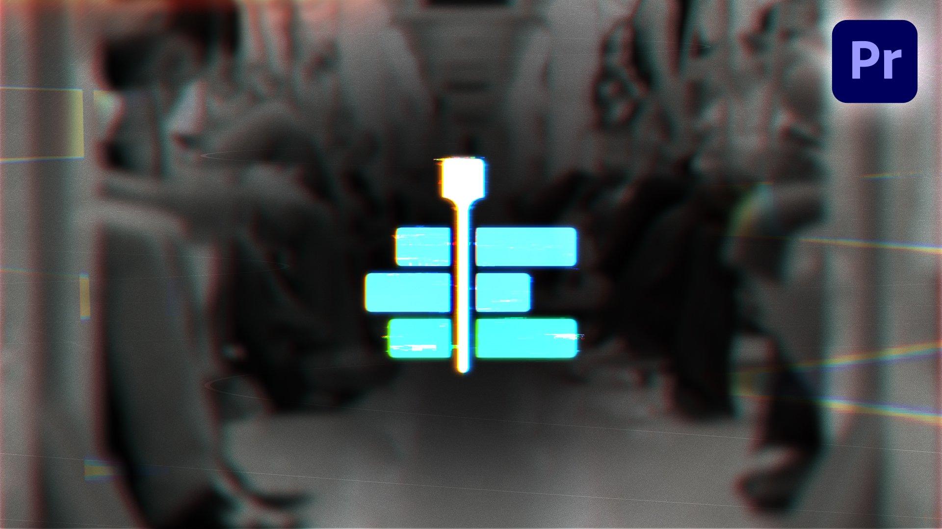 glitch-logo-reveal