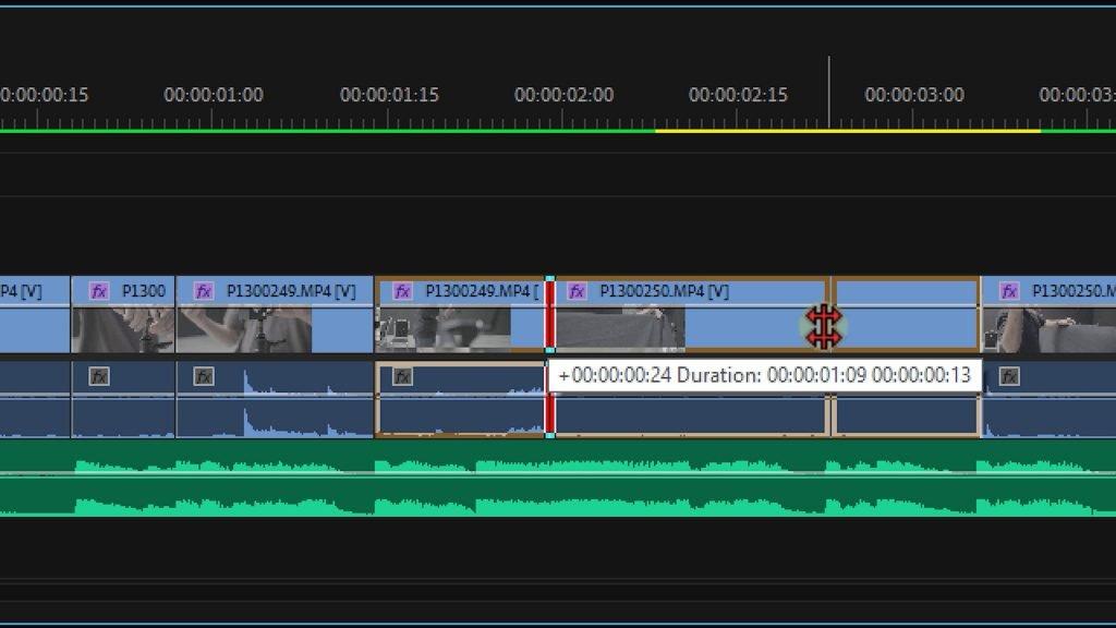 rolling edit tool