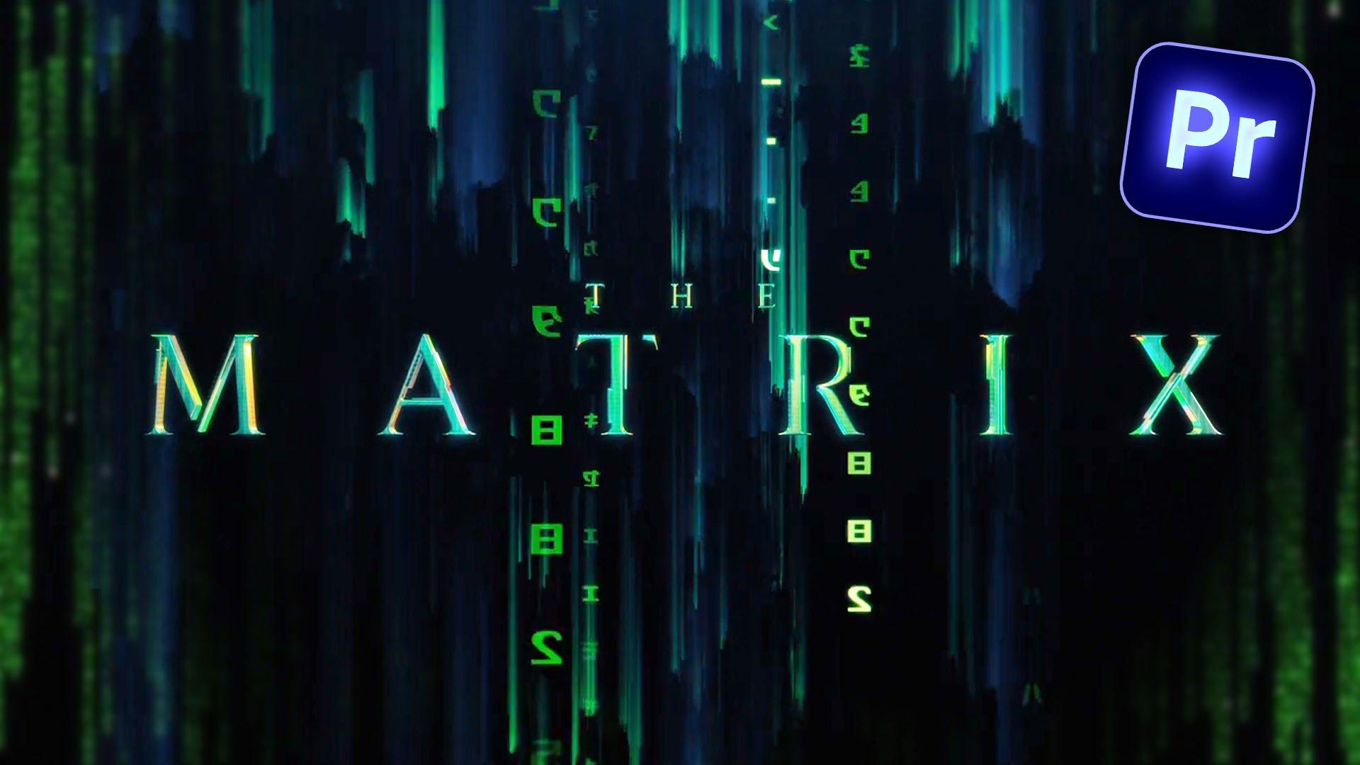 matrix-title-animation